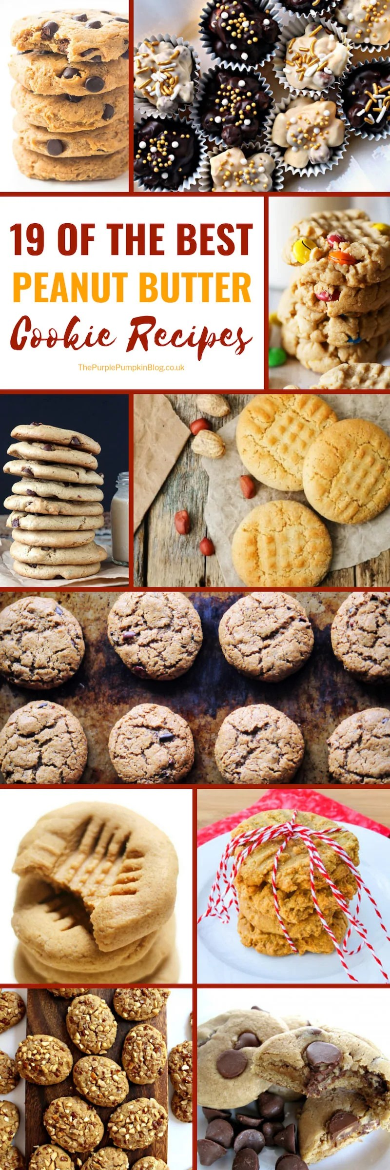There is no denying that peanut butter is awesome, but put it into cookies and that is a match made in heaven! Here are 19 of the Best Peanut Butter Cookie Recipes, which include low carb, keto and no-bake peanut butter cookies; as well as recipes including oatmeal, chocolate, and toffee - yummy! #PeanutButterCookies #PeanutButterCookieRecipes