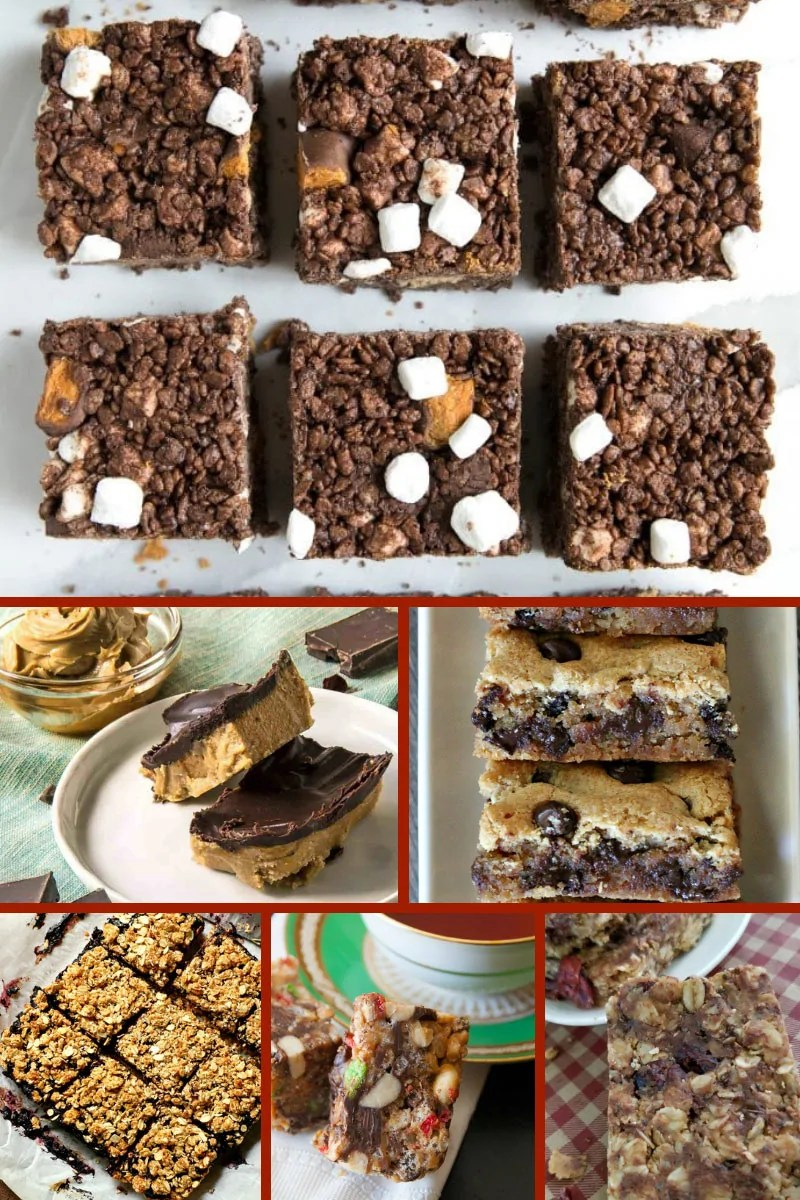 21 Peanut Butter Bars & Brownie Recipes!If you love a chocolate/peanut butter combo, then you're going to love these recipes! This roundup of peanut butter bars and brownies include: Low Carb; Keto; Gluten-Free; and Vegan recipes. There is an amazing variety of recipes too, with delicious flavourings and ingredients including bananas, coconut, butterscotch, cereal, and pretzels! #PeanutButterBars #Brownies #PeanutButterRecipes