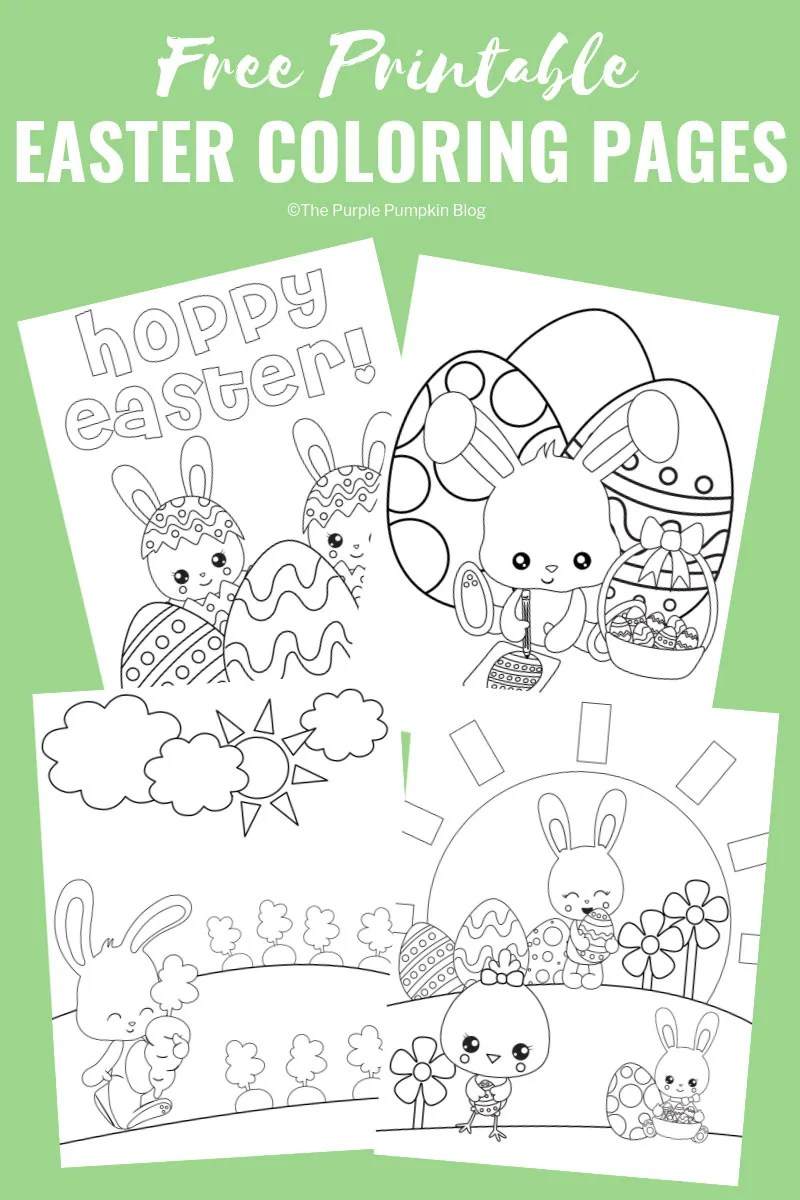 photo relating to Free Printable Easter Egg Coloring Pages named Totally free Printable Easter Bunny Coloring Web pages