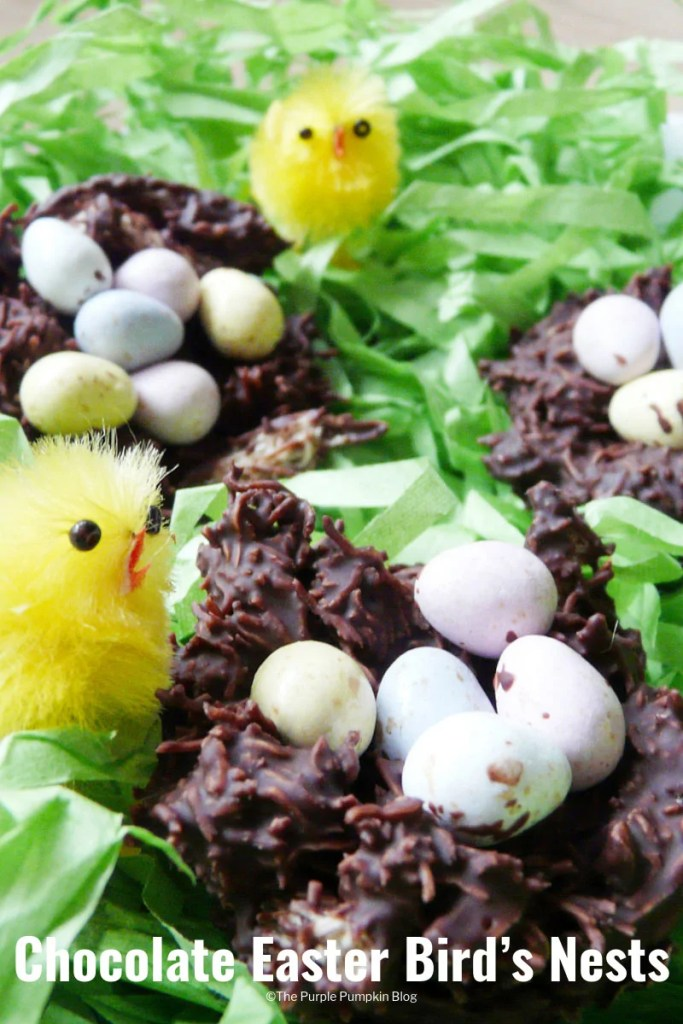 Chocolate Easter Bird's Nests