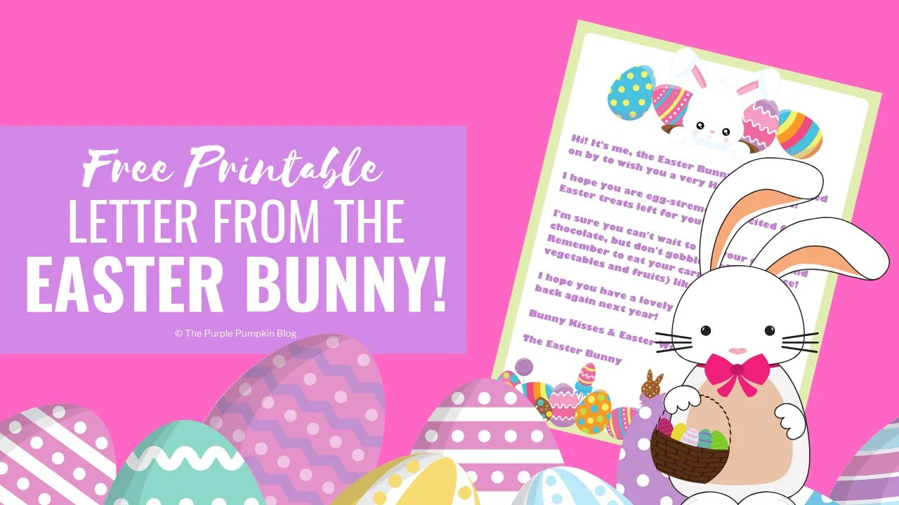 photo about Letter From Easter Bunny Printable known as Letter Versus The Easter Bunny! No cost Printable