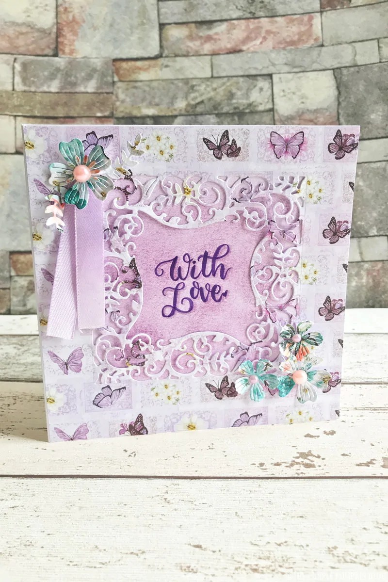 With Love - Mother's Day Card