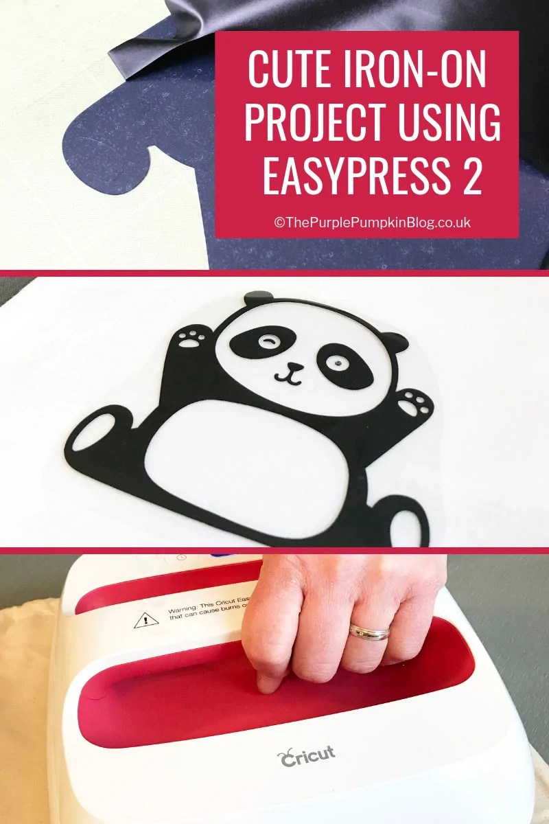 Cute Iron-On project with Cricut Maker and EasyPress 2