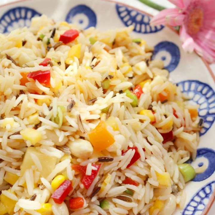 Tropical Rice Salad