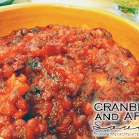 Cranberry & Apple Sauce