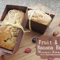 Fruit & Nut Banana Bread Mini Loaves
