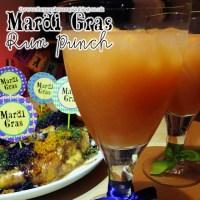Mardi Gras Rum Punch