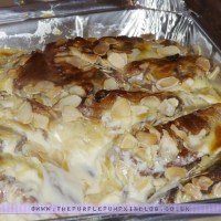 Panettone Amaretto Pudding
