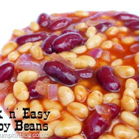 Quick'n' Easy Cowboy Beans