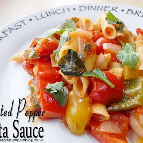 Roasted Pepper Pasta Sauce