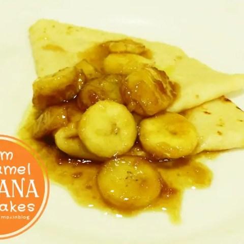 Rum Caramel Banana Sauce/Topping