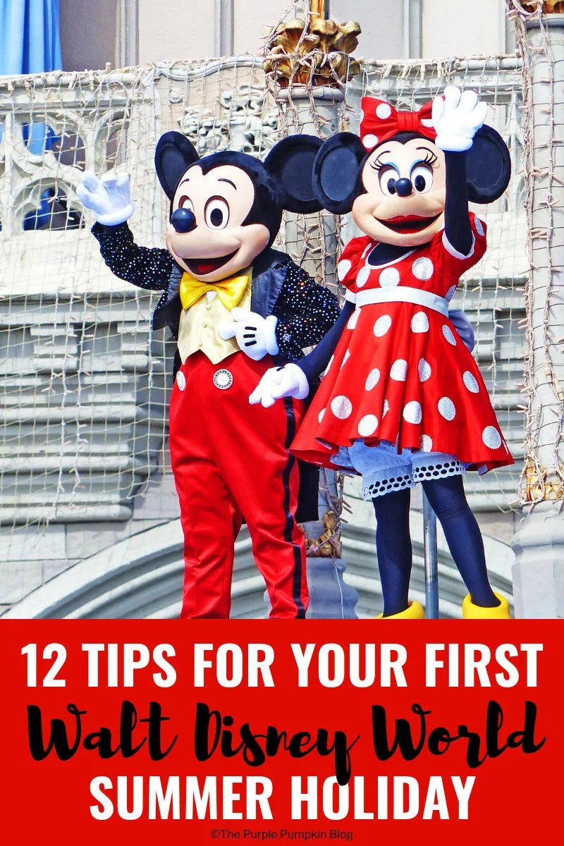 12 Tips For Your First Walt Disney World Summer Holiday - don't plan your WDW vacation without these top tips!