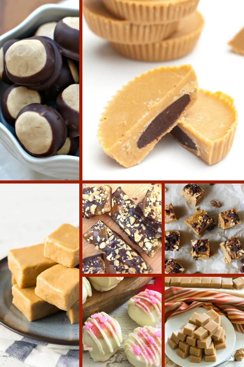 Peanut Butter Fudge & Candies