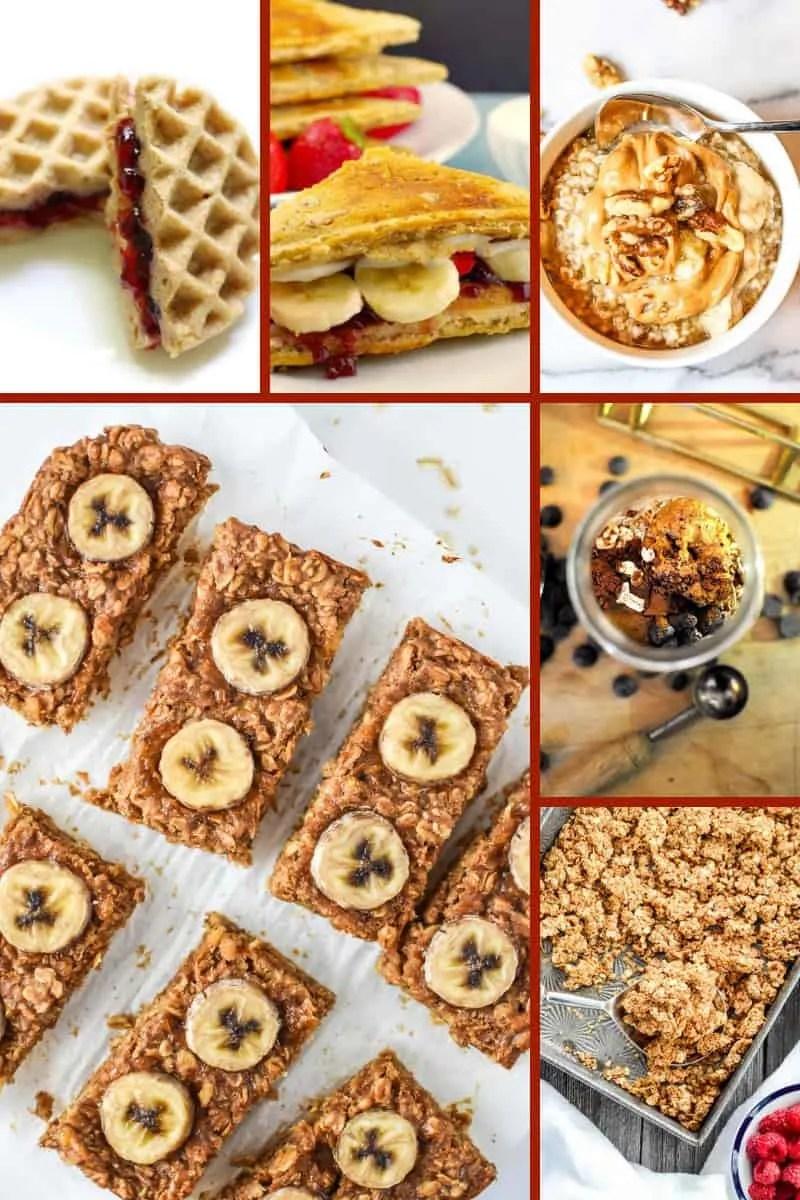 Peanut Butter Dessert Recipes - for Breakfast!