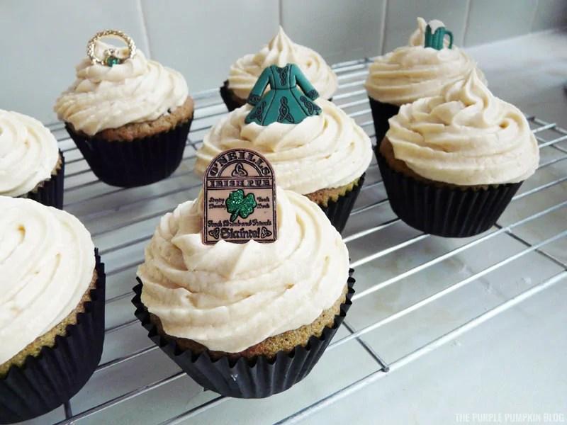 Chocolate & Bailey's Irish Cream Cupcakes
