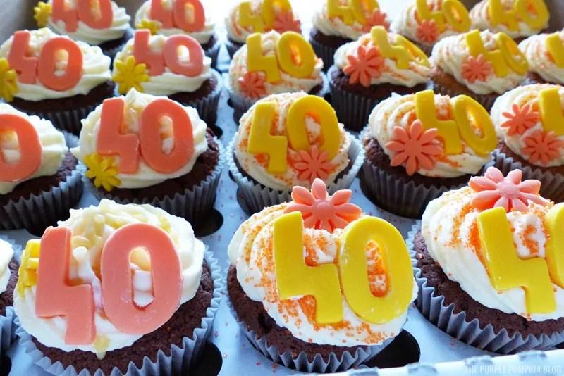 Orange & Yellow Cupcakes