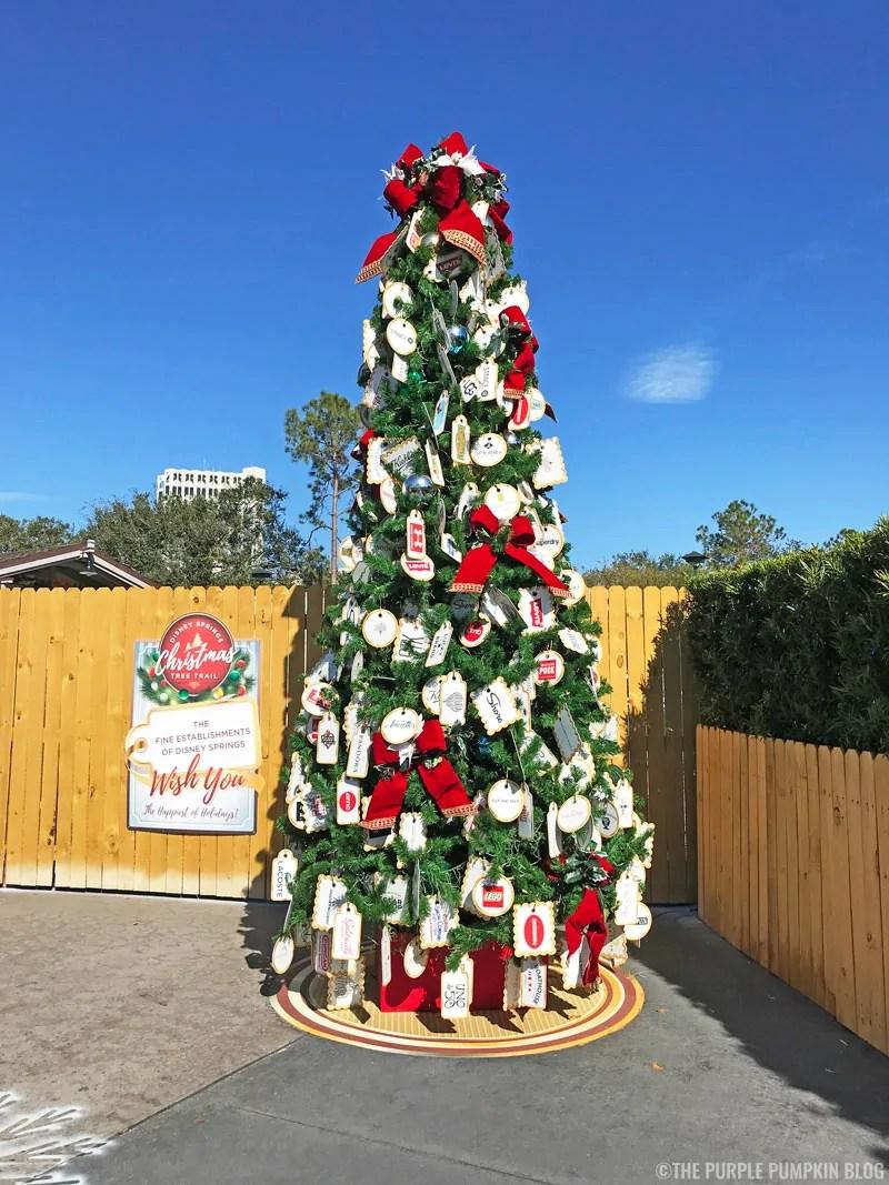 Disney Springs Establishment's Christmas Tree