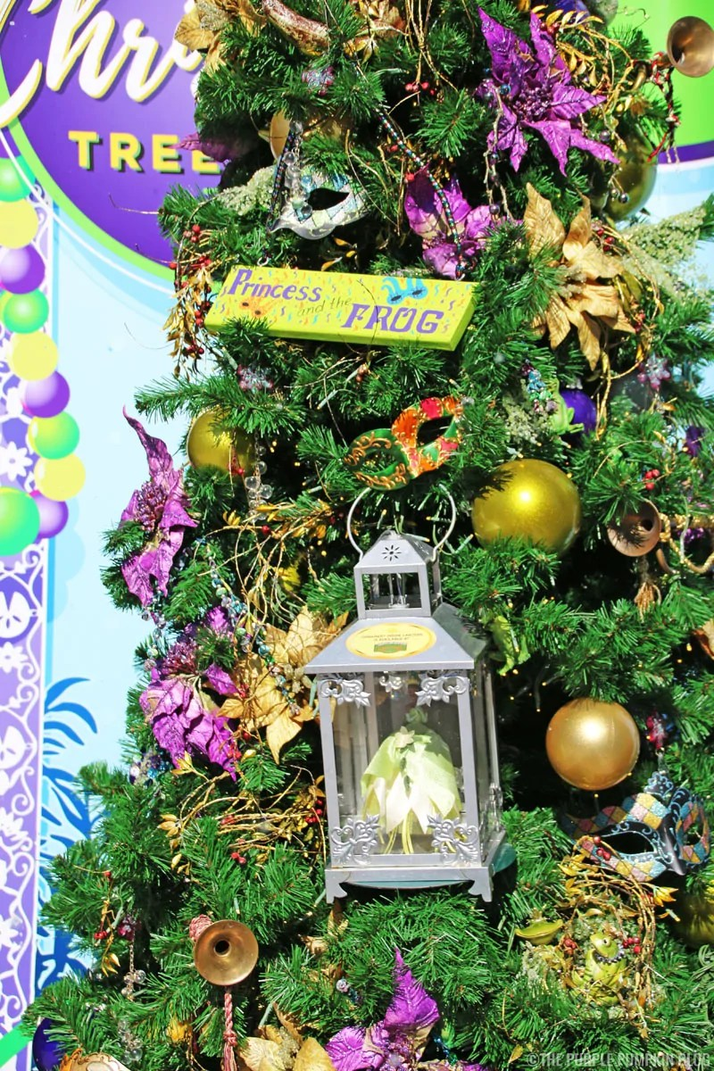 The Princess & The Frog Christmas Tree at Disney Springs