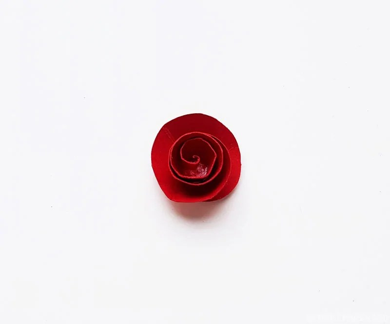 Complete paper flower