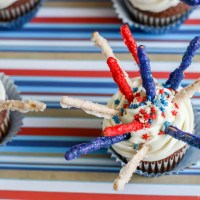 Fireworks Cupcake Recipe