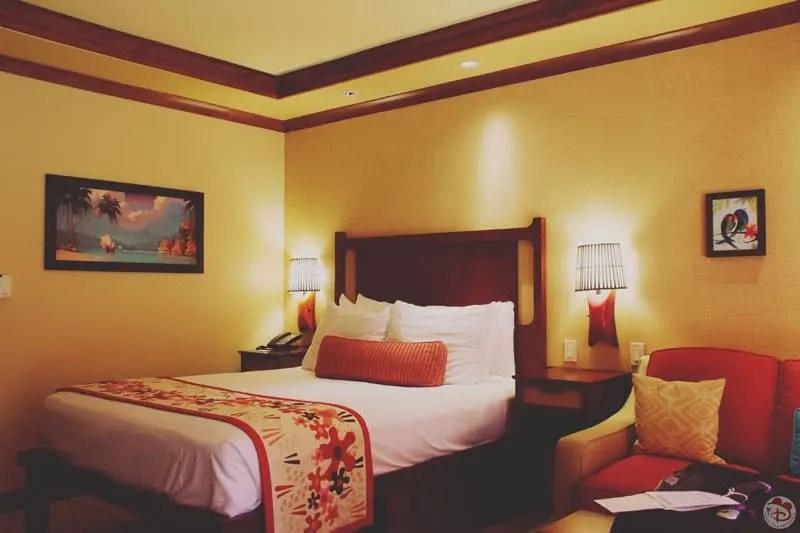 Disney's Polynesian Village Resort Hotel Room