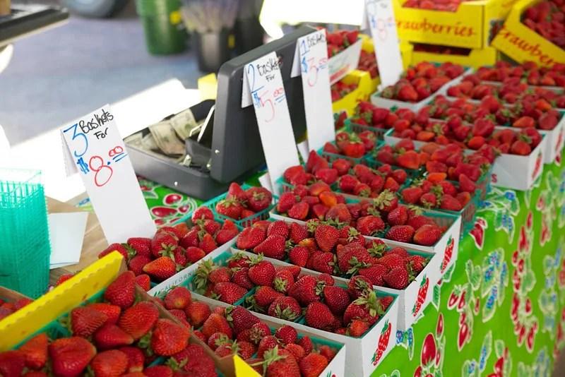Strawberries, Sacramento, CA