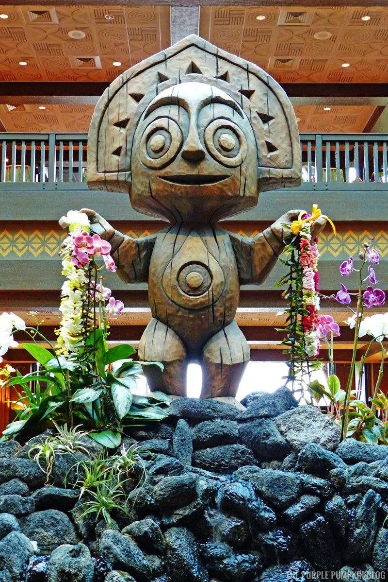 Tiki God Maui Statue - Disney's Polynesian Village Resort