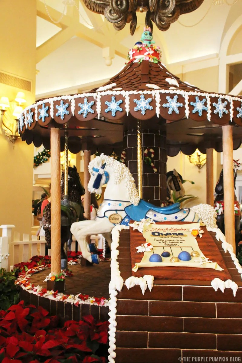 Beach Club - Gingerbread Carousel