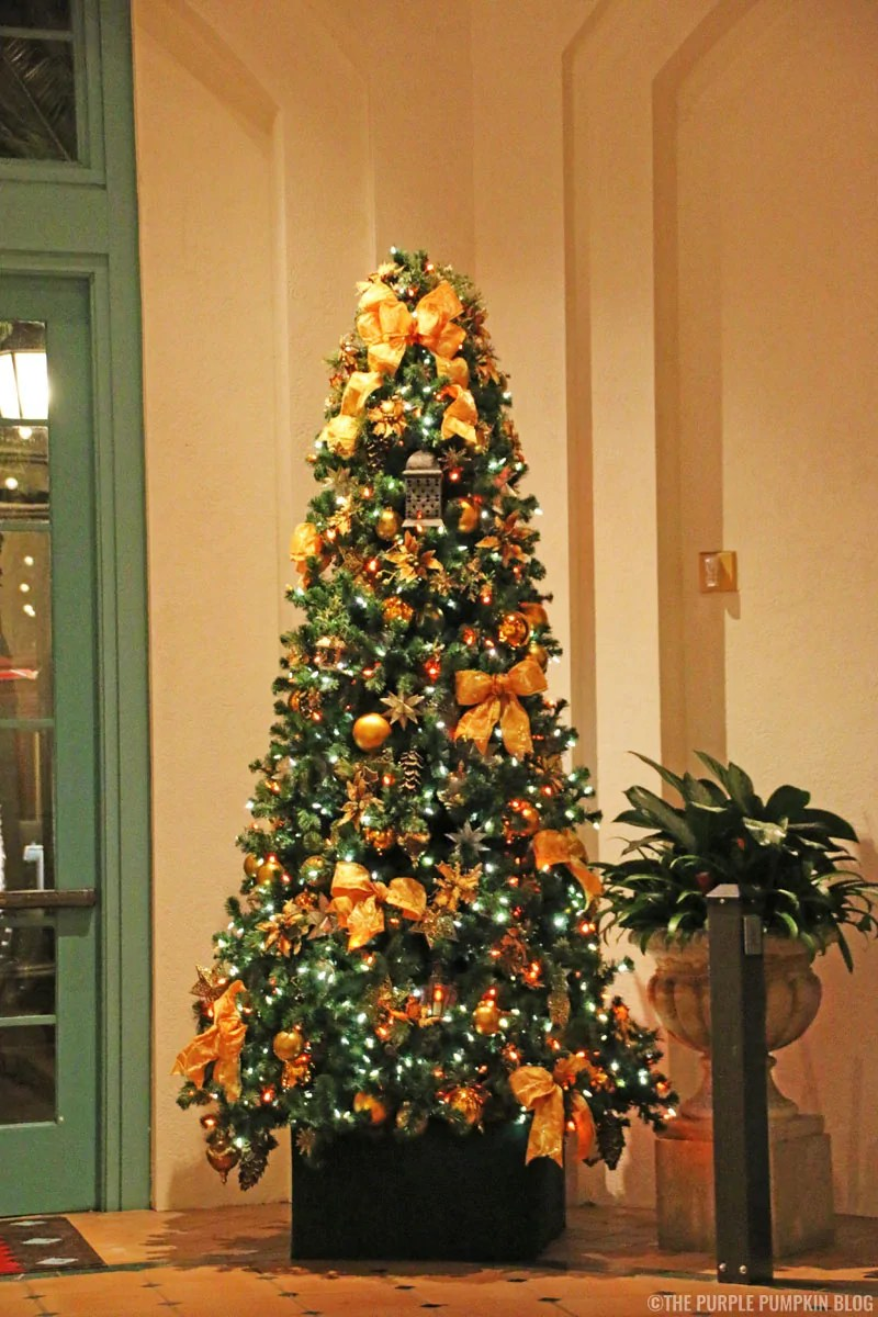 Christmas Tree at Disney's Coronado Springs