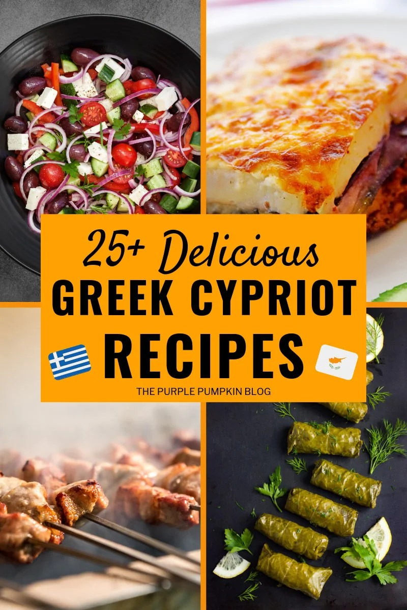 25 delicious Greek Cypriot Recipes