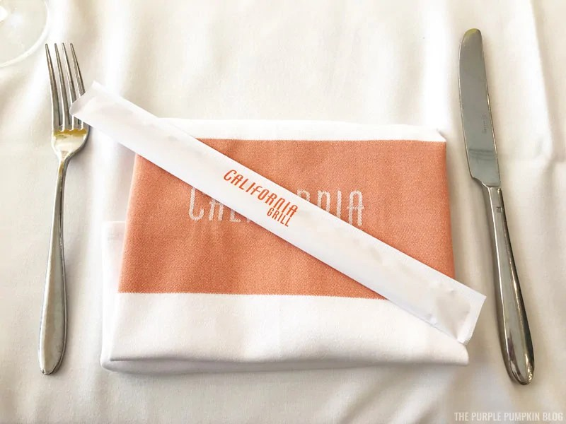 California Grill Place Setting