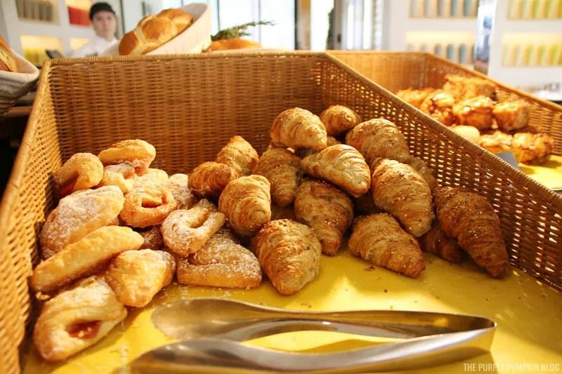Guava Turnover, Wholegrain Croissant