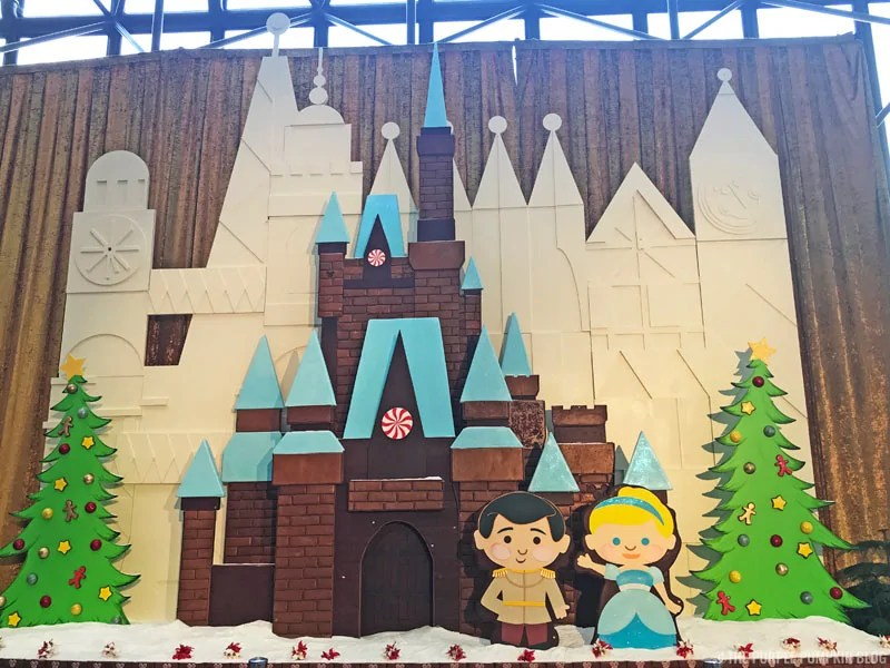 Cinderella Castle Gingerbread Display at Disney's Contemporary Resort