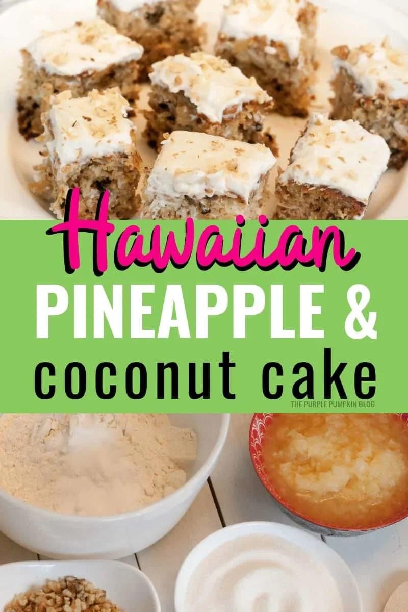 Hawaiian Pineapple Coconut Cake