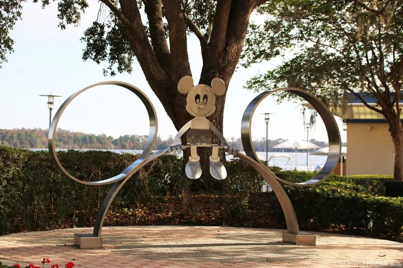 Mickey Sculpture at Disney's Contemporary Resort