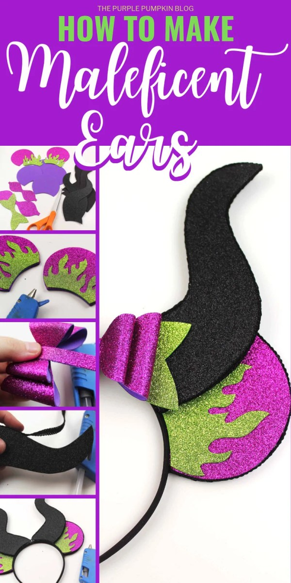 How to Make Disney Maleficent Ears