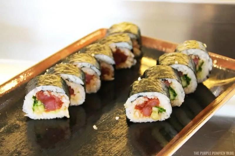 Spicy Tuna Tekkamaki Rolls