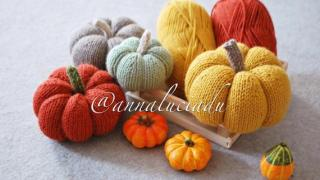 Pumpkin Knitting Patterns (3 Sizes)