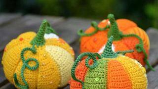 Patchwork Crochet Pumpkin Patterns