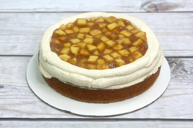 apple pie filling layer