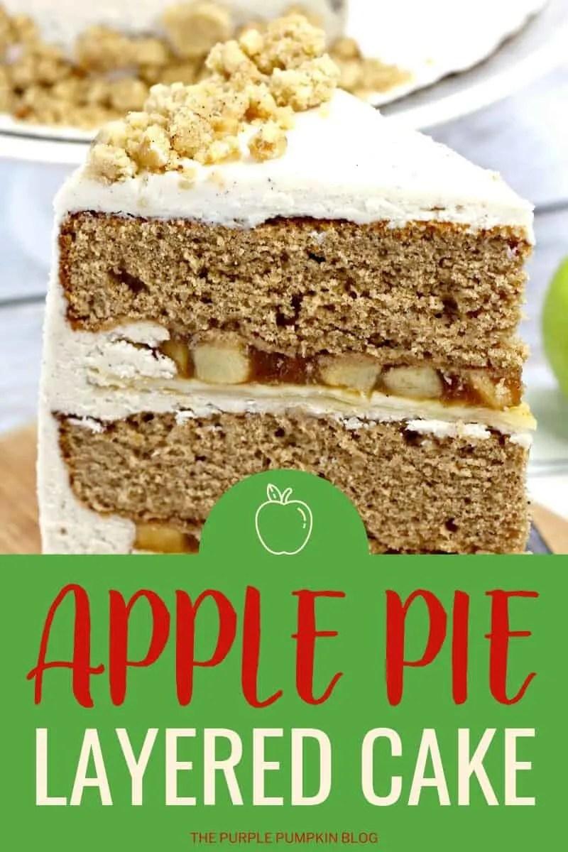 apple pie layered cake