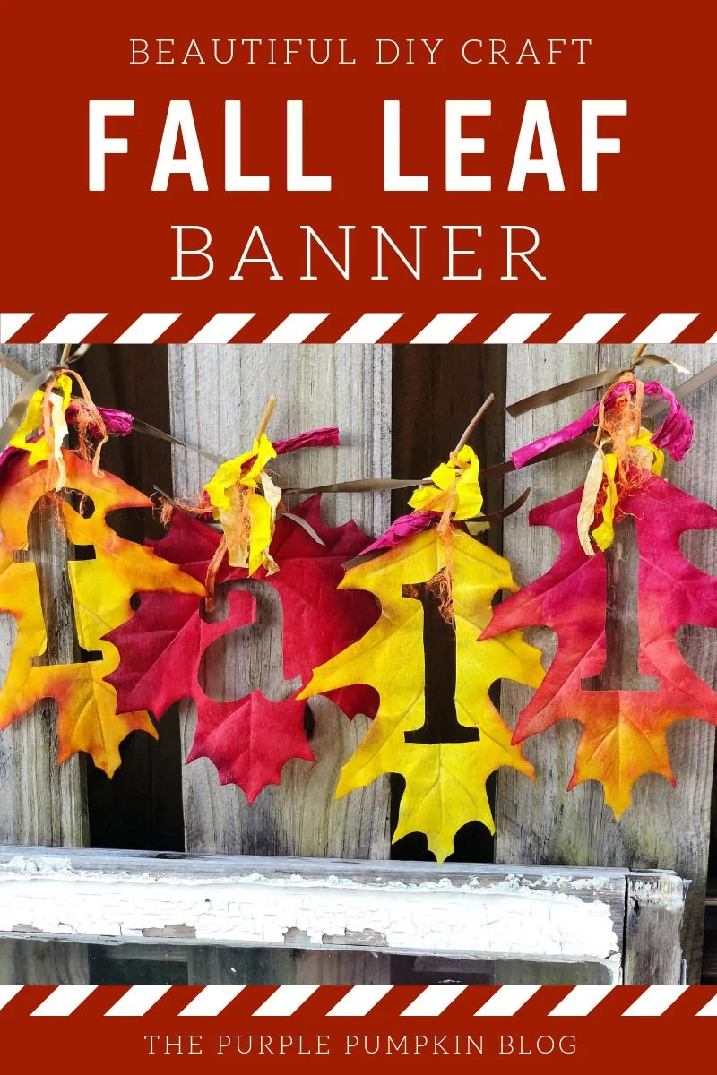 Beautiful-DIY-Craft-Fall-Leaf-Banner