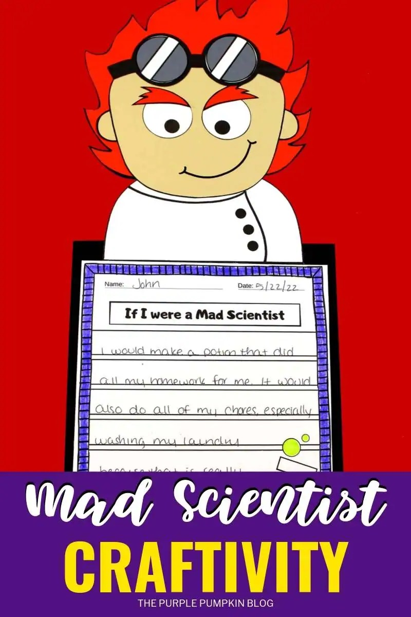 Mad Scientist Craftivity
