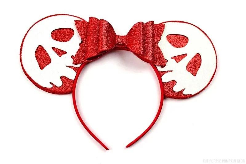 DIY Poison Apple Snow White Mickey Ears