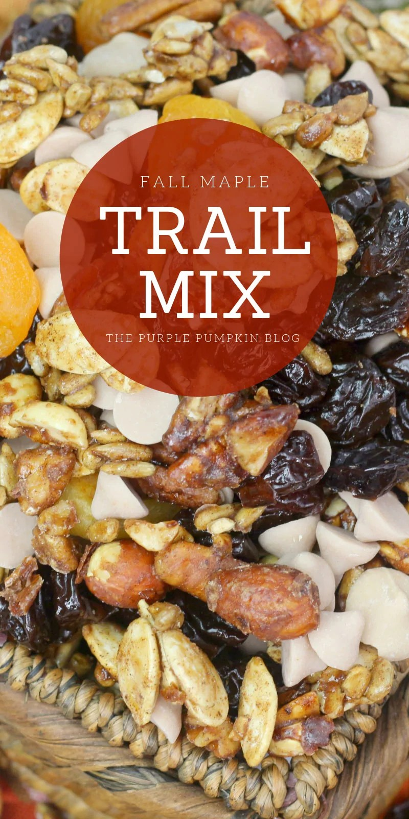 fall maple trail mix
