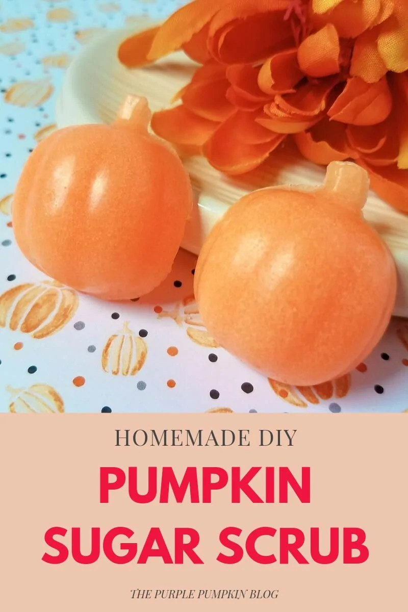 Homemade DIY Pumpkin Sugar Scrub