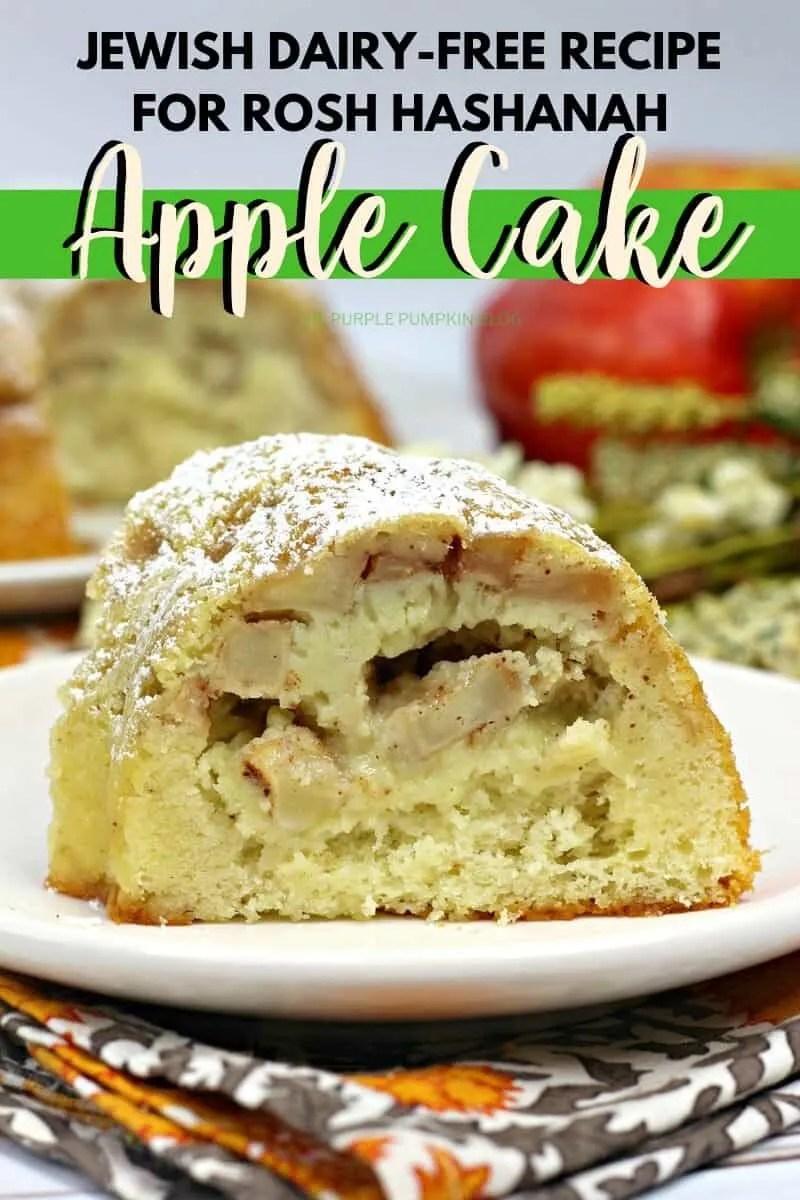 Jewish Dairy-Free Recipe for Rosh Hashanah Apple Cake