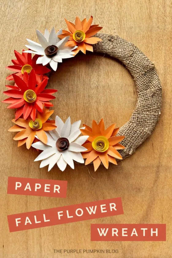 Paper-Fall-Flower-Wreath