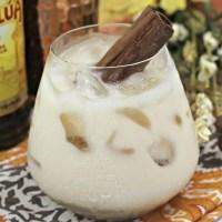 Pumpkin White Russian Cocktail