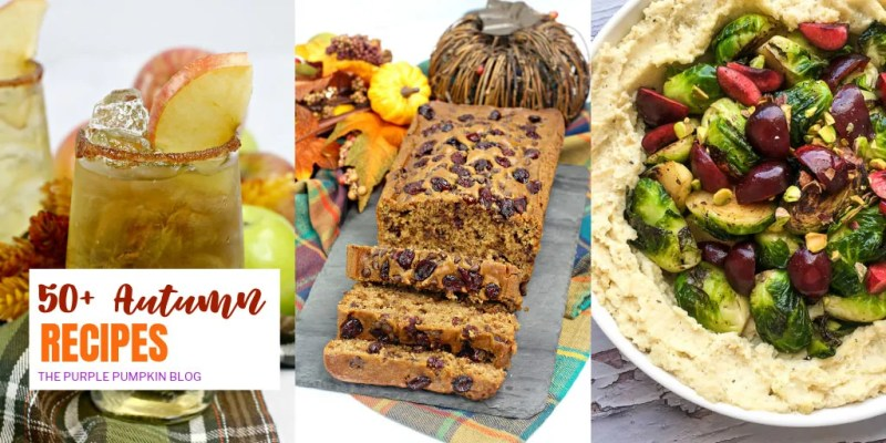 50+ Autumn Recipes